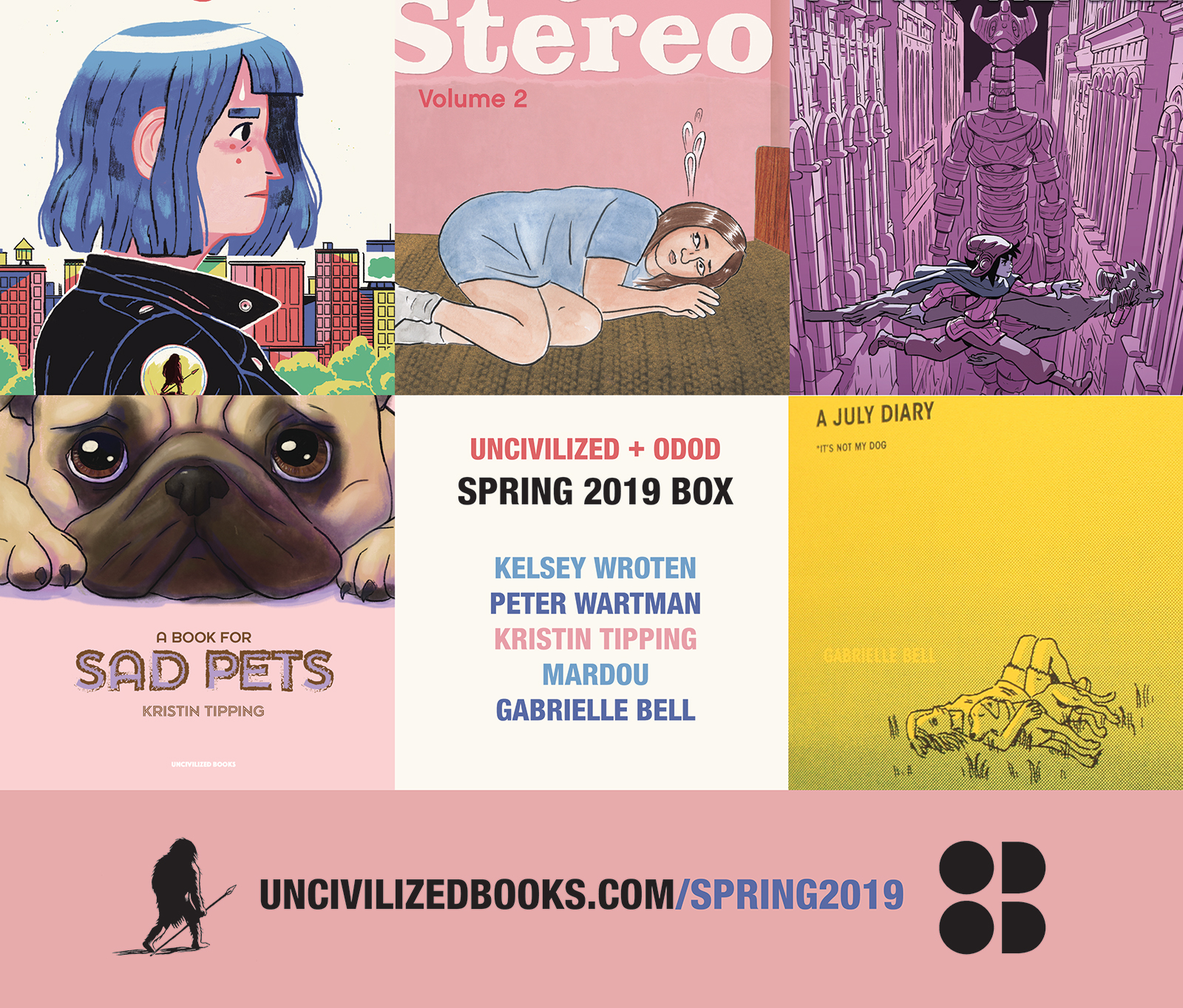 Spring 2019 Box | Uncivilized Books Subscription