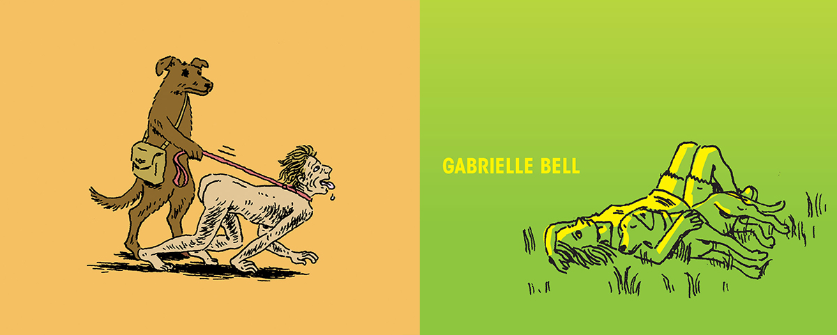 Three Ignatz Award Nominations for Gabrielle Bell