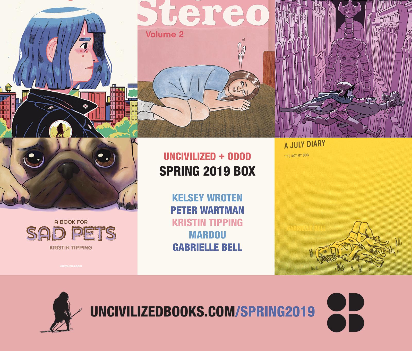 Spring 2019 Box | Uncivilized Books Subscription