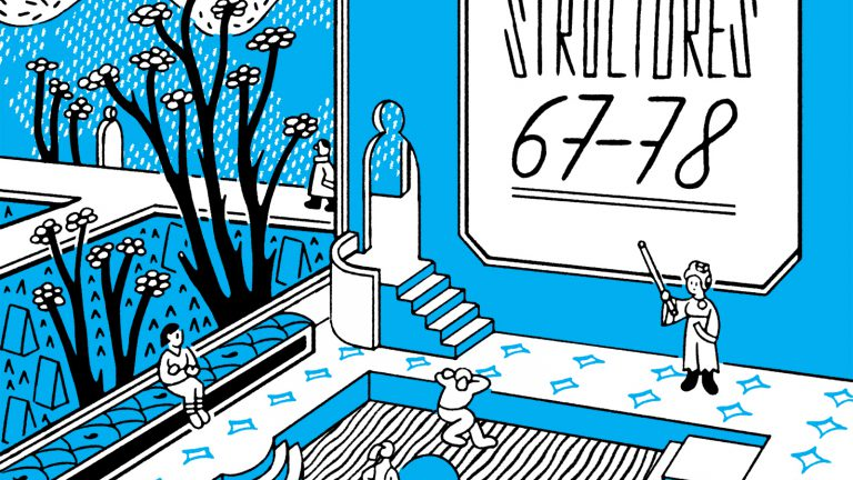 Structures 67-78 by Sophia Foster-Dimino | utopian architectural fantasy