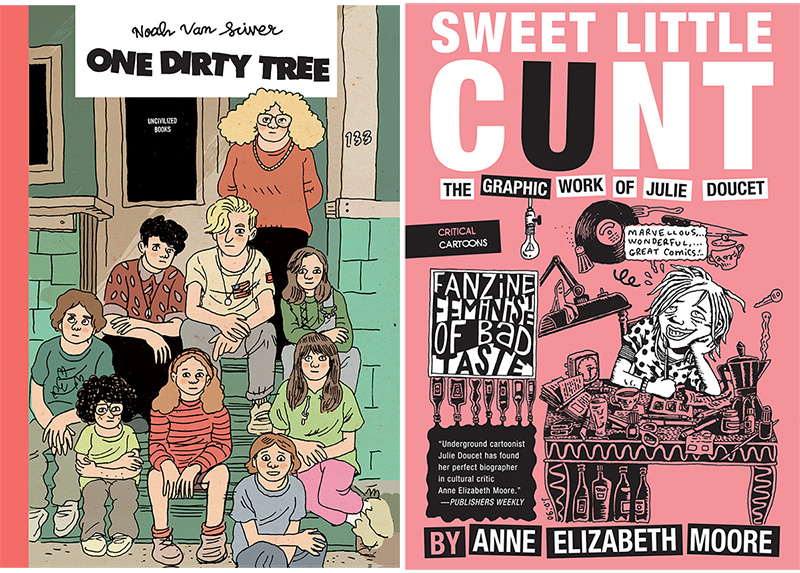 Uncivilized Books Gets Two Eisner Award Nominations!