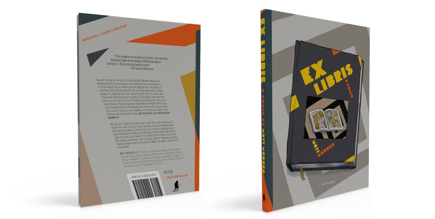 Starred Review of Ex Libris by Matt Madden