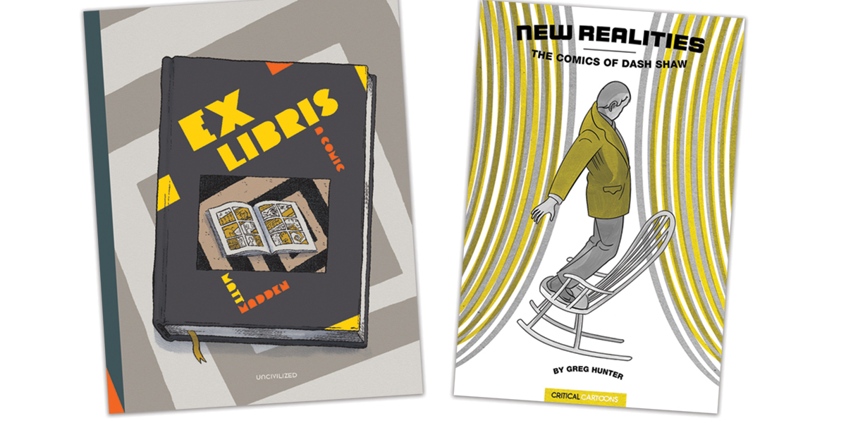 Uncivilized Books Announces Two Fall 2021 Titles: Ex Libris and New Realities